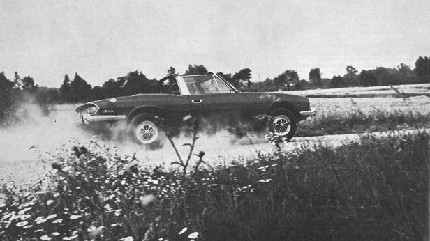 Triumph Stag - Limouspider