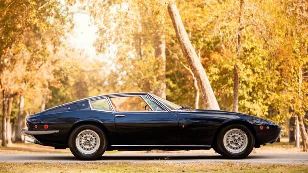 Maserati Ghibli seitenansicht