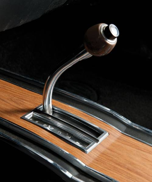 plymouth roadrunner cabriolet shifter