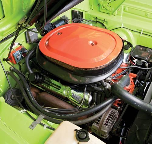 plymouth roadrunner cabriolet motor