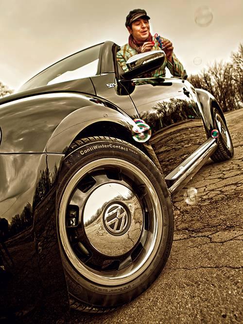 vw the beetle cabriolet 50s 1,6 tdi felge