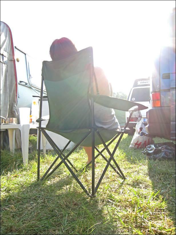 ... saugen Andere letze Sonnenstrahlen auf bevors in die Nacht geht.