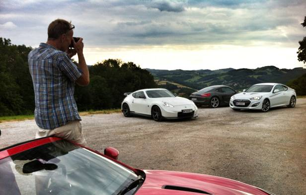 Die Supertest Einsteiger: Nissan 370Z Nissmo, Porsche Cayman S PDK & Hyundai Genesis 3,7 V6
