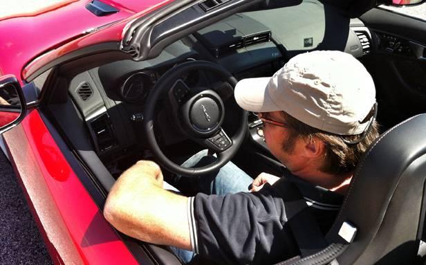 Markus Pölzl - ein glücklicher F-Type Fahrer