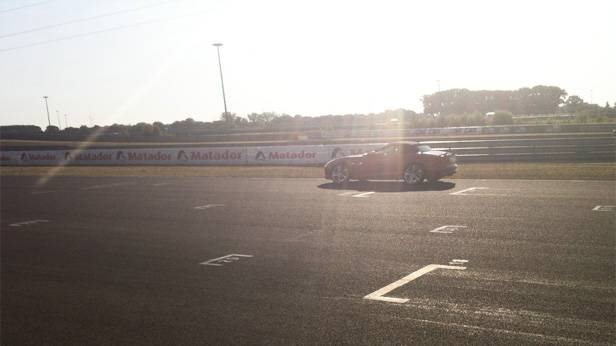 Wendlinger im F-Type am Slovakiaring