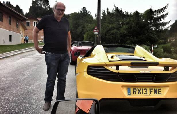 Fahrerwechsel: Jaguar gegen McLaren. Kann man verkraften.