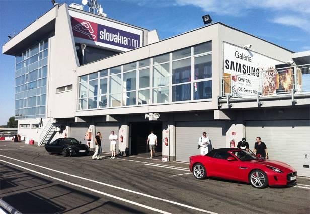 Die Autorevue Box am Slovakiaring