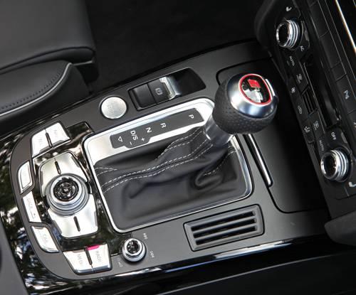 Audi RS5 Cabriolet Schalthebel