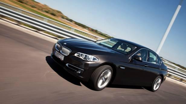 BMW 518d Automatik front seite