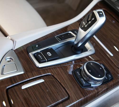 BMW 518d Automatik schalthebel