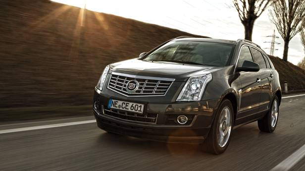 Cadillac SRX 3,6L AWD AT Sport Luxury front