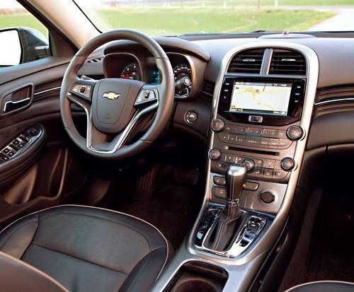 Chevrolet Malibu 2,0 Diesel LTZ Automatik innenraum