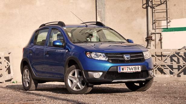 Dacia Sandero Stepway Lauréate dCi 90 front
