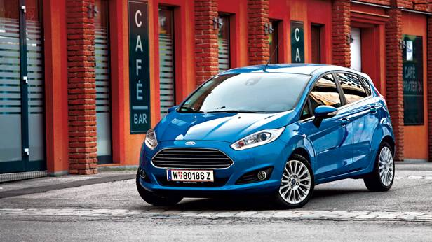 Ford Fiesta 1,0 EcoBoost 125 PS Titanium front