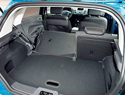 Ford Fiesta 1,0 EcoBoost 125 PS Titanium kofferraum