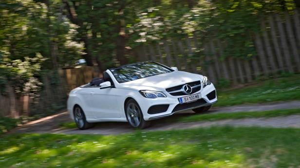 Mercedes E 400 Cabriolet front