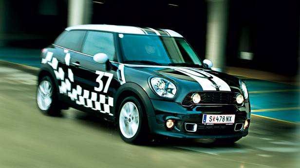 mini paceman cooper sd all4 front