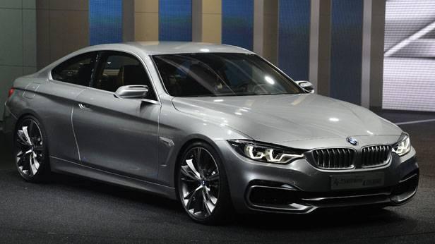 Das neue 4er Coupe von BMW bei der Autoshow in Detroit USA