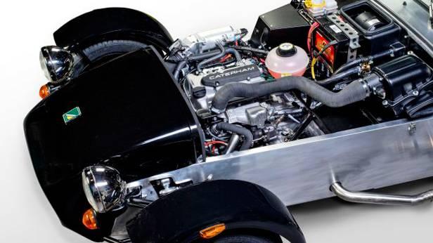 Caterham Seven Dreizylinder Motor