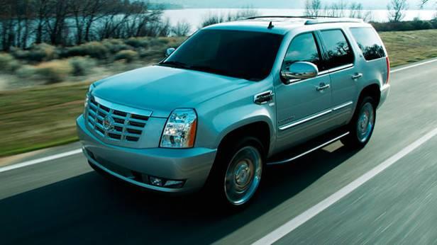 Cadillac Escalade dynamisch vorne links
