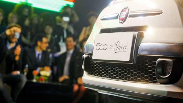 Fiat 500 in China bei der Autoshow