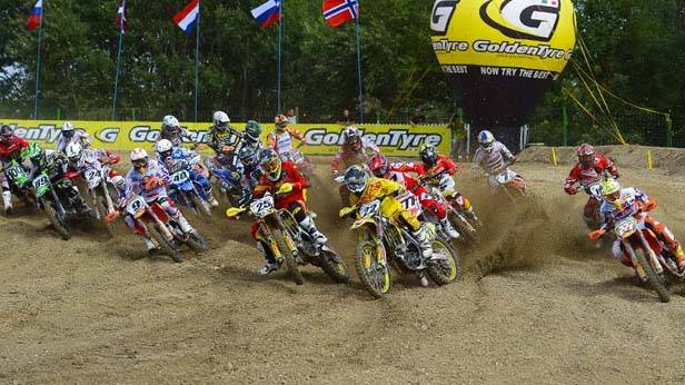 Der Start des MX1-Laufs in Loket