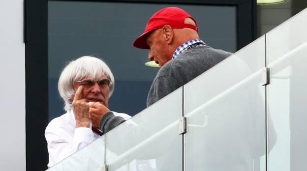 Gute Mine zum bösen Spiel: Lauda hält einen WM-Sieg seine Mercedes-Teams für sehr, sehr unwahrscheinlich.