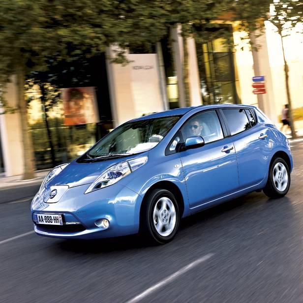 Nissan Leaf dynamisch