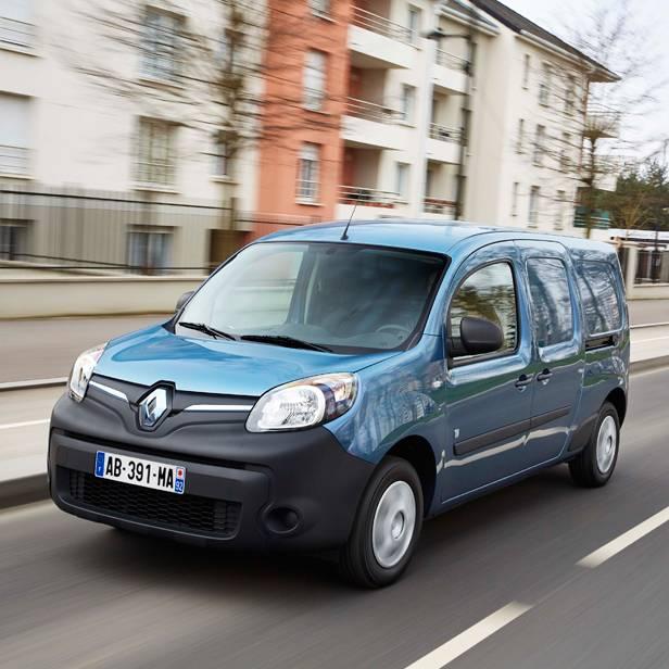 Renault Kangoo Z.E. dynamisch