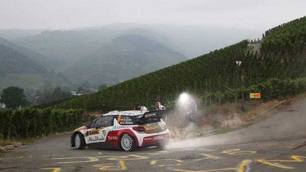 Sordo bei der Rallye Deutschland