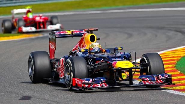 Am Wochenende blickt alles gespannt nach Belgien, wenn Vettel versucht, die hochmotivierte Konkurrenz abzuschütteln. Oder umgekehrt.