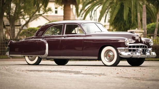 Der 1949 Cadillac Series 60S Special Fleetwood Sedan seitlich