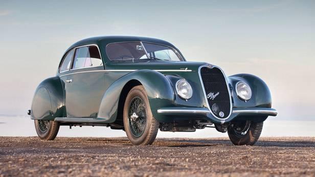 Der Alfa Romeo 6C 2500 Sport Berlinetta Touring, von vorne