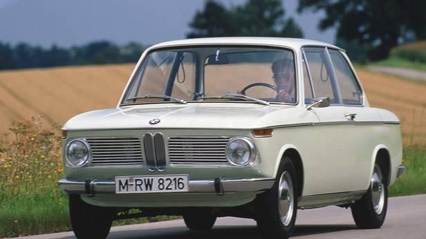 Der BMW 1600-2, von vorne
