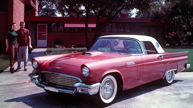 der Ford Thunderbird 1957