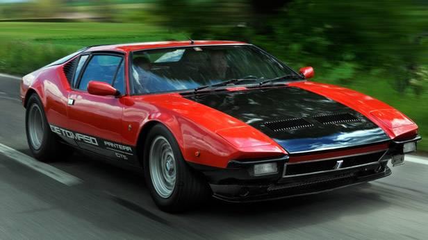 Der De Tomaso Pantera GTS von der Seite
