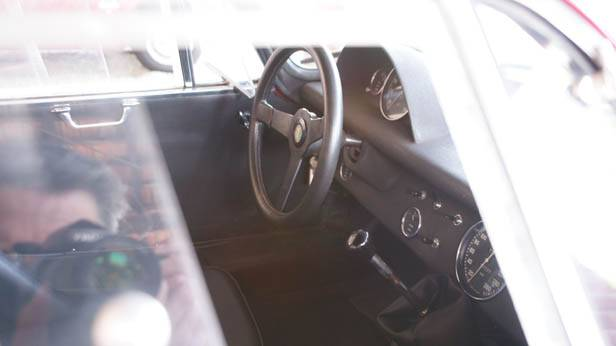 Innenraum des Alfa Romeo Giulia TZ