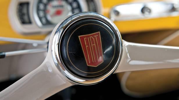 Lenkrad des Fiat Multipla 600