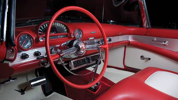 Der Ford Thunderbird, 1955 innen