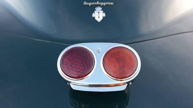 Detailansicht des Alfa Romeo 6C 2500 Sport Berlinetta Touring