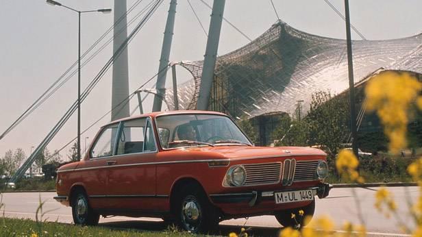 Der BMW 1602 in der Luxus-Ausführung