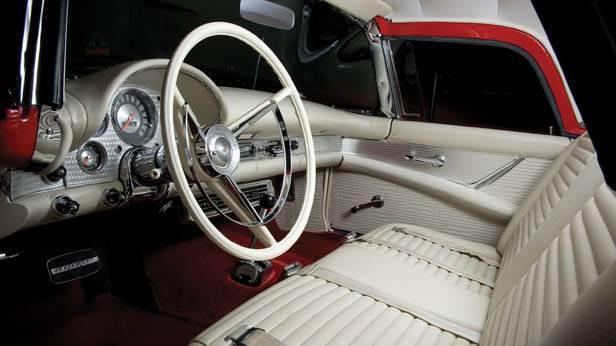 Der Ford Thunderbird, 1957 innen