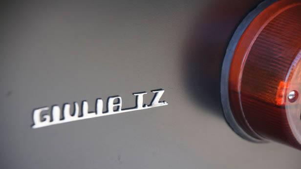 Detailansicht des Alfa Romeo Giulia TZ
