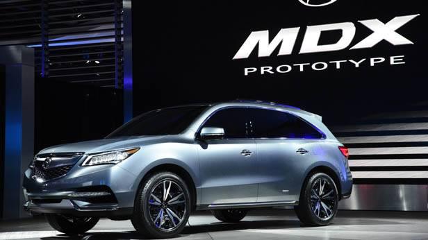 ein neuer Acura MDX 2013 auf der Detroit Auto Show