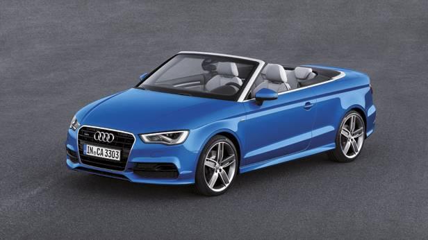 Audi A3 Cabriolet statisch vorne links