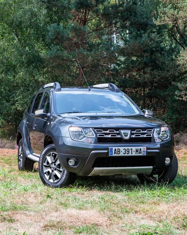 Dacia Duster statisch vorne