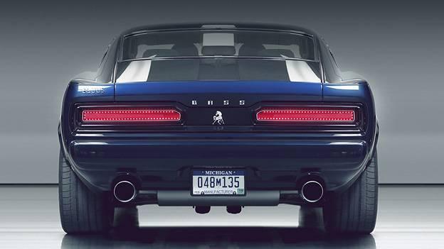 Equus Bass770 Retro Musclecar Ford Mustang Chevrolet Corvette ZR1 Detroit