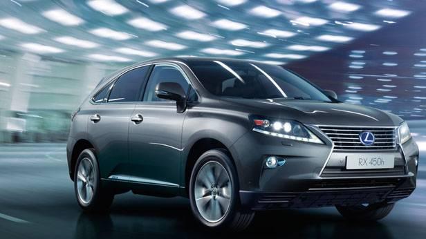 Der Lexus RX400h
