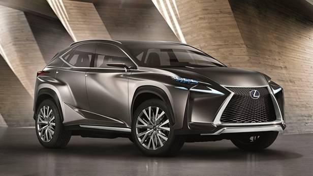 Lexus LX LF FN LN