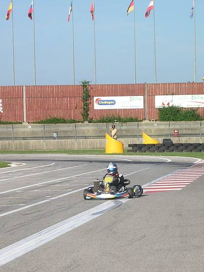 Luca Wenzel Mach Racing Team Kartsport